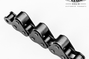 Chains with carrier rollers on top