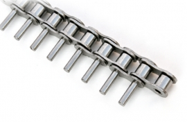 Chain with extended pins
