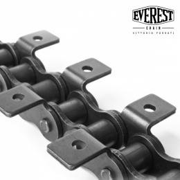 Attachments for roller chains